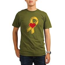 Heart Ribbon T-Shirt