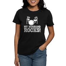My Husband Rocks Tee