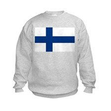 Finnish Flag Sweatshirt