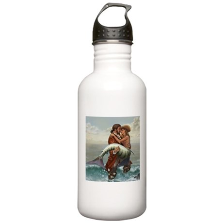 Pirate and Mermaid Stainless Water Bottle 1.0L