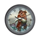 Pirate and Mermaid Wall Clock