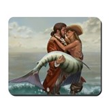 Pirate and Mermaid Mousepad