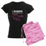 Marine Trophy Wife pajamas
