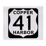 Copper Harbor 41 Throw Blanket