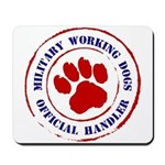 USCG Working Dogs Mousepad