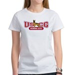 USCG Working Dogs Women's T-Shirt