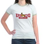 USCG Working Dogs Jr. Ringer T-Shirt