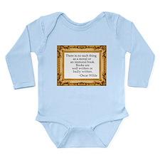 Censorship Long Sleeve Infant Bodysuit