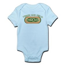 Track and Field Throws Infant Bodysuit
