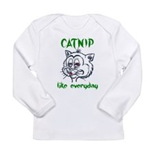 High Stoned Catnip Cat Long Sleeve Infant T-Shirt
