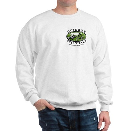 Outdoor Essentials Sweatshirt (front & back)