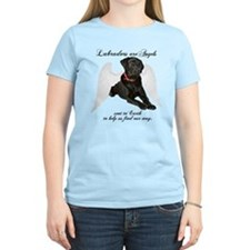 Black Lab Angel T-Shirt