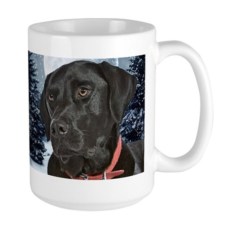 Black Lab Large Mug