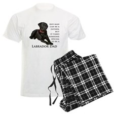 Black Lab Dad pajamas