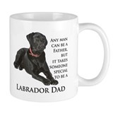 Black Lab Dad Coffee Mug