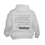 I Am a Marathoner Hoody
