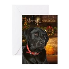 Holiday Black Lab Cards (Pk of 20)