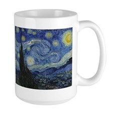 Starry Trekkie Night Ceramic Mugs