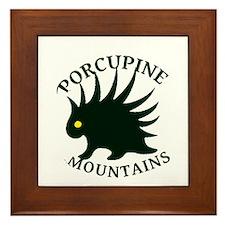Porcupine Mountains Framed Tile