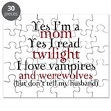 Vampires &amp;amp; Werewolves Puzzle