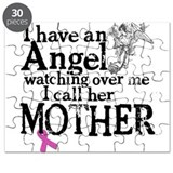 Breast Cancer Mother Angel Puzzle