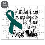 Angel Mother Ovarian Cancer Puzzle