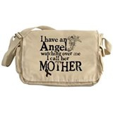 Colon Cancer Mother Angel Messenger Bag