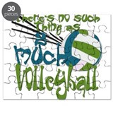 2 much Volleyball Puzzle