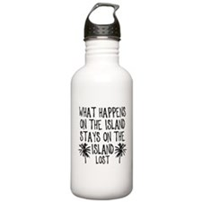What Happens on the Island Water Bottle