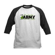 Granddaughter Combat Boots - ARMY Tee