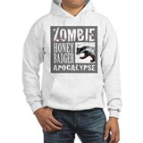 Zombie Honey Badger Hoodie
