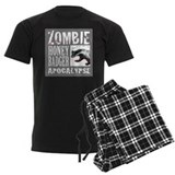 Zombie Honey Badger pajamas