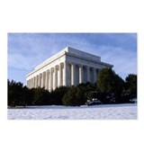Lincoln Memorial Postcards (Package of 8)