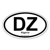 DZ Algeria Decal