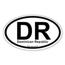 DR - Dominican Republic Decal