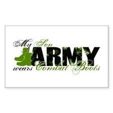 Son Combat Boots - ARMY Decal