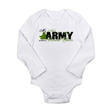 Niece Combat Boots - ARMY Long Sleeve Infant Bodys
