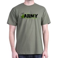 Niece Combat Boots - ARMY T-Shirt
