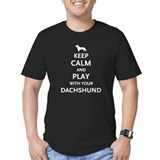 Keep Calm Dachshund T