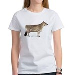 Brown Swiss Dairy Cow Women's T-Shirt