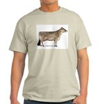 Brown Swiss Dairy Cow Light T-Shirt