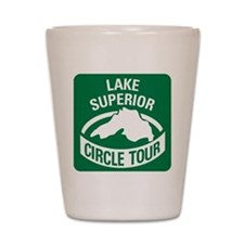 Lake Superior Circle Tour Shot Glass