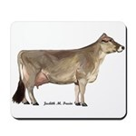 Brown Swiss Dairy Cow Mousepad