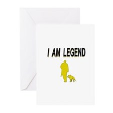 i am legend Greeting Cards (Pk of 20)