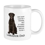 Chocolate Lab Dad Small Mug