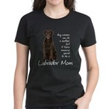 Chocolate Lab Mom Tee