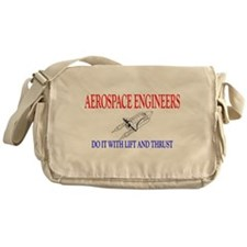 Aerospace Engineers Do It Messenger Bag