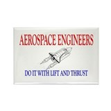 Aerospace Engineers Do It Rectangle Magnet (10 pac