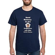Dogs Against Mitt Romney 4 T-Shirt