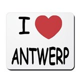 I heart antwerp Mousepad